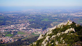 Castelo dos Mouros. View of the Moorish Castle Stock Images