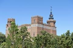 Castelo dos três dragões Fotografia de Stock Royalty Free
