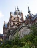 Castelo Dragon Castle de Drachenburg perto de Koenigswinter - Bona em Alemanha Reno-Westphalia norte foto de stock