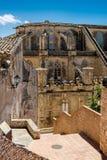 Castelo e catedral de Tortosa imagem de stock royalty free