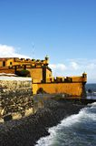 Castelo e mar Imagem de Stock Royalty Free