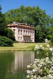 Castelo e palácio de Schönbusch Fotos de Stock