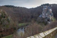 Castelo Eltz em Alemanha Fotos de Stock