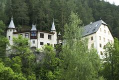 Castelo em Áustria Fotografia de Stock