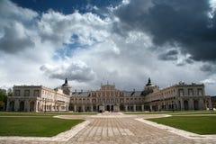 Castelo em Aranjuez imagens de stock