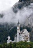 Castelo em Baviera, Alemanha de Neuschwanstein Imagens de Stock Royalty Free