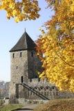 Castelo em Bedzin fotografia de stock