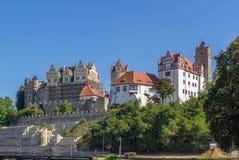 Castelo em Bernburg, Alemanha Imagens de Stock Royalty Free