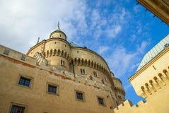 Castelo em Bojnice, slovakia fotografia de stock