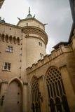 Castelo em Bojnice, slovakia Fotos de Stock Royalty Free