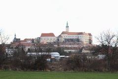Castelo em Breclav Fotos de Stock