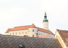 Castelo em Breclav Imagens de Stock