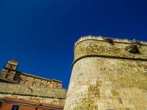 Castelo em Cagliari foto de stock