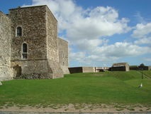 Castelo em Dôvar, Inglaterra Foto de Stock