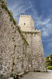 Castelo em Erice, Sicília de Venus Imagem de Stock