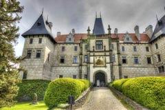 Castelo em Europa Fotos de Stock Royalty Free