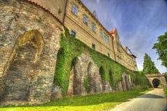 Castelo em Europa Foto de Stock Royalty Free