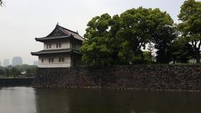 Castelo em japão Fotografia de Stock