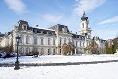 Castelo em Keszthely, Hungria de Festetics Fotografia de Stock Royalty Free