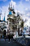 Castelo em Lotte World Magic Island foto de stock royalty free