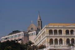 Castelo em Macau Fotografia de Stock Royalty Free
