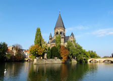 Castelo em Moselle Foto de Stock