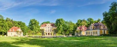 Castelo em Neschwitz, Alemanha imagens de stock