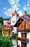 Castelo em Poiana Brasov Imagem de Stock