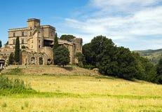 Castelo em provence Fotografia de Stock