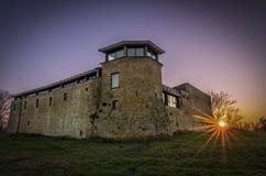 Castelo em Riccione fotos de stock royalty free