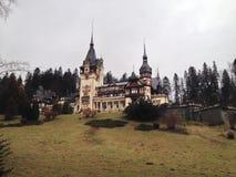 Castelo em Romania Imagens de Stock
