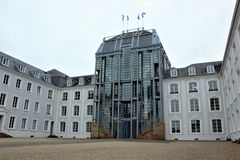 Castelo em Sarburgo Fotografia de Stock Royalty Free