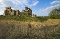 Castelo em Siewierz, Poland Foto de Stock