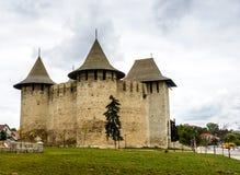 Castelo em Soroca, fortaleza medieval moldova Foto de Stock Royalty Free