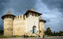 Castelo em Soroca, fortaleza medieval moldova Imagem de Stock Royalty Free
