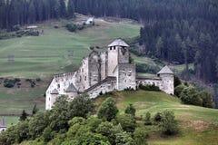 Castelo em Tirol fotos de stock royalty free