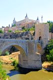 Castelo em Toledo, Spain Foto de Stock Royalty Free