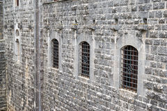 Castelo em Toscânia imagem de stock royalty free