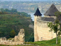 Castelo em Ucrânia Imagens de Stock Royalty Free