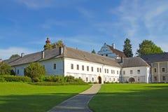 Castelo em Velke Losiny (república checa) Imagem de Stock