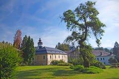 Castelo em Velke Losiny (república checa) Imagens de Stock Royalty Free