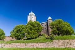 Castelo em Vyborg Foto de Stock