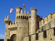 Castelo Enchanted, ³ n de LeÃ, Spain Imagem de Stock Royalty Free