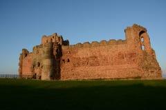 Castelo Escócia de Tantallon imagens de stock