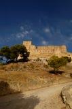 Castelo espanhol fotos de stock