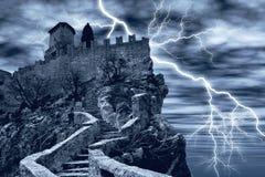 Castelo espectral Fotografia de Stock Royalty Free