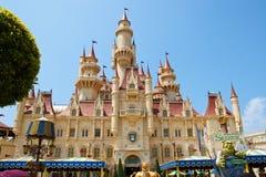 Castelo faraway distante Fotografia de Stock Royalty Free