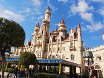 Castelo faraway distante foto de stock royalty free