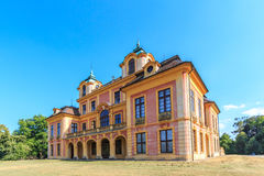 Castelo favorito no ludwigsburg fotografia de stock