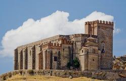 Castelo - fortaleza de Aracena Imagem de Stock Royalty Free